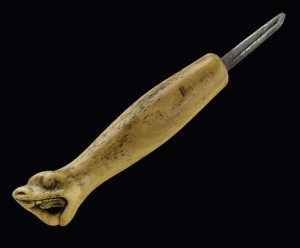 Charles Edenshaw's engraving tool