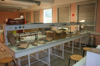 Archeology Lab - Universite de Poitiers, France